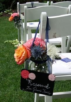 Outdoor weddings in Richmond VA at The Mill at Fine Creek, http://www.lastingflorals.com